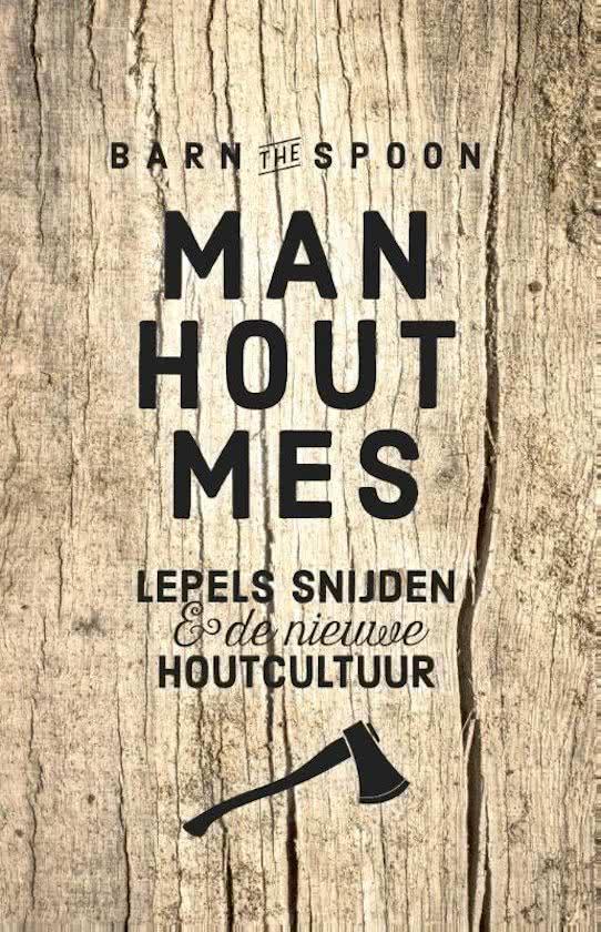 Man, hout, mes